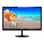 "LED монитор 23.8"" Philips 244E5QSD/00(01) Black-Cherry"