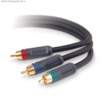 Кабель Belkin Component Video Cable 3RCA/3RCA, 1M AD21000qn1M