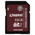 Флеш карта Kingston SDHC 32GB Class 10 UHS-I U3 (SDA3/32GB)