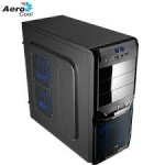 Корпус Aerocool V3X Advanced Evil Blue Edition Black ATX без БП