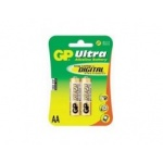 Батарейки GP 15AU-CR2 Ultra AA (2 шт. в уп-ке)