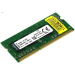 Модуль памяти Kingston ValueRAM DDR-III SODIMM 2Gb <KVR16LS11S6/2>  <PC3-12800> CL11  (for  NoteBook)