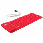 Клавиатура AgeStar AS-HSK810FB Red USB/PS/2