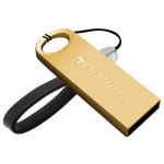 USB диск (флешка) Transcend JetFlash520 64GB USB 2.0 (TS64GJF520G) Golden