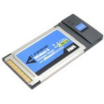 Адаптер Linksys WPC54GS PCMCIA