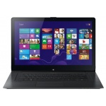 ������� Sony Fit-Series (SV-F15N1A4R/B) 15.5'' FHD(1920x1080) GLARE/TOUCH/Intel Core i7-4500U 1.80GHz Dual/8GB/1TB + SSDCache/GF GT735M 2GB/noDVD/WiFi/BT4.0/0.92MP/SDXC/USB3.0/6.0h/2.30kg/W8/2Y/BLACK