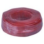 Кабель Pairs cat 5E 305m solid (AWG24) CCA alloy red 305м