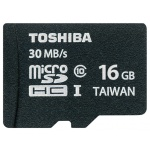 Флеш карта Toshiba microSDHC 16Gb Class10  SD-C016UHS1(BL5A UHS-1 +adapter SD-C016UHS1(BL5A