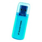 USB диск (флешка) Silicon Power Helios 101 64 Gb Blue USB2.0 (SP064GBUF2101V1B)