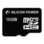 Флеш карта Silicon Power microSDHC 16 Gb Class10 (SP016GBSTH010V10)
