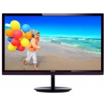 "LED монитор 28"" Philips 284E5QHAD (00/01), Black"