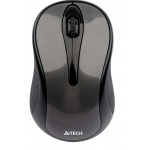 Мышь A4-Tech V-Track Wireless Mouse G7-360N Glossy Gray (1) USB