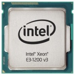 Процессор Intel Xeon E3-1245V3 3.40ГГц, LGA1150, 5.0 GT/s, 8M, HD Graphics P4600 OEM
