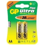 Батарейки GP 15AUP-2CR2 Ultra Plus(2 шт. в уп-ке)
