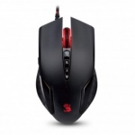 Мышь A4-Tech Bloody X`Glides Gaming Mouse <V5M  Black> (RTL)  USB  8btn+Roll