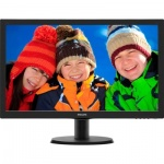 "LED монитор 23.6"" Philips 243V5LAB/00(01) Black"
