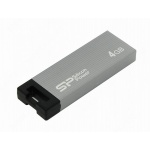 USB диск (флешка) Silicon Power Touch 835 4 Gb Grey USB2.0 (SP004GBUF2835V1T)