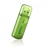 USB диск (флешка) Silicon Power Helios 101 64 Gb Green USB2.0 (SP064GBUF2101V1N)