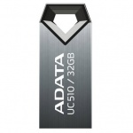 USB диск (флешка) A-Data DashDrive UC510 32 Gb Grey USB2.0 (AUC510-32G-RTI)