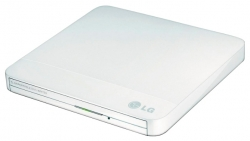 Привод внешний HLDS GP50NW41 White USB2.0 EXT (RTL)
