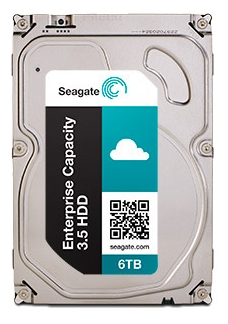 "Жёсткий диск Seagate Enterprise Capacity ST6000NM0024 6Tb SATA 6Gb/s 3.5""  7200rpm  128Mb"