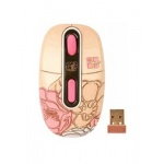 Мышь A4-Tech G-Cube3 Wireless Optical Mouse G7F-10SU Beige-Pink USB