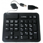 Клавиатура AgeStar HSK910 Black USB/PS/2