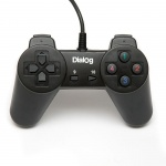Геймпад Dialog GP-A01 Action USB, черный