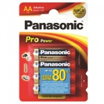 Элемент питания Panasonic ProPower Gold LR6 АА (4шт) LR6XEG/4BPR