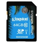 Флеш карта Kingston SDXC 64 Gb UHS-I (SDA10/64GB)