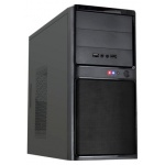 Корпус FOX 6812-OTC BK Black microATX 450W (24+4+6пин)