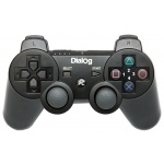 Геймпад Dialog GP-A17 Action PC USB/PS3 черный