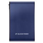 Внешний жёсткий диск Silicon Power Armor A80 500 Gb USB3.0 Blue (SP500GBPHDA80S3B)