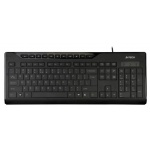 Клавиатура A4-Tech Slim Multimedia Keyboard KD-800 USB