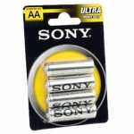 Батарейки SONY R6-4BL NEW ULTRA [SUM3NUB4A] (4 шт. в уп-ке)