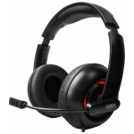 Наушники FANTEC [GHS-U71], 7.1 Gaming Headset, USB, black (1560)