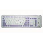 Клавиатура CBR KB-1002D Twister PS/2 и USB White