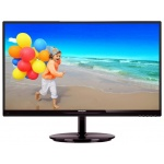 "LED монитор 23"" Philips  234E5QHAW (00/01) Black Cherry"