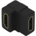 Адаптер HDMI 19P Female-Female 90
