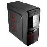 "Корпус Aerocool Miditower""V3X Advanced Black Edition"", ATX, черный 500W [EN57547/57363]"
