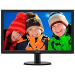 "LED монитор 23.6"" Philips 243V5LHAB/00(01) Black"