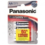 Элемент питания Panasonic Everyday Power Silver LR6 АА (4шт) LR6REE/4BR