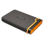 Внешний жёсткий диск Transcend StoreJet 25M2 1 Tb Gray-Orange USB2.0 (TS1TSJ25M2)