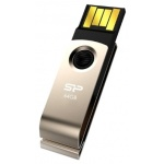 USB диск (флешка) Silicon Power Touch 825 64 Gb Gold USB2.0 (SP064GBUF2825V1C)