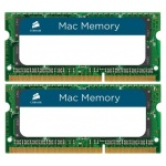 Модуль памяти Corsair Mac Memory 2*4Gb DDR-III SODIMM KIT PC3-10600 CL9 (CMSA8GX3M2A1333C9)