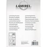 Пленка для ламинатора Fellowes Lamirel LA-7866101 А5 125мкм 100шт.