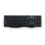 Клавиатура Logitech Keyboard K100 Black PS/2 (920-003200)