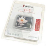Флеш карта Kingston CompactFlash 4 Gb (CF/4GB)
