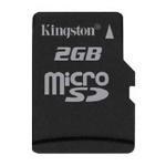 Флеш карта Kingston microSD 2x2Gb Twin Pack + адаптер (SDC/2GB-2P1A)