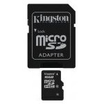 Флеш карта Kingston microSDHC 16 Gb Class10 + адаптер (SDC10/16GB)